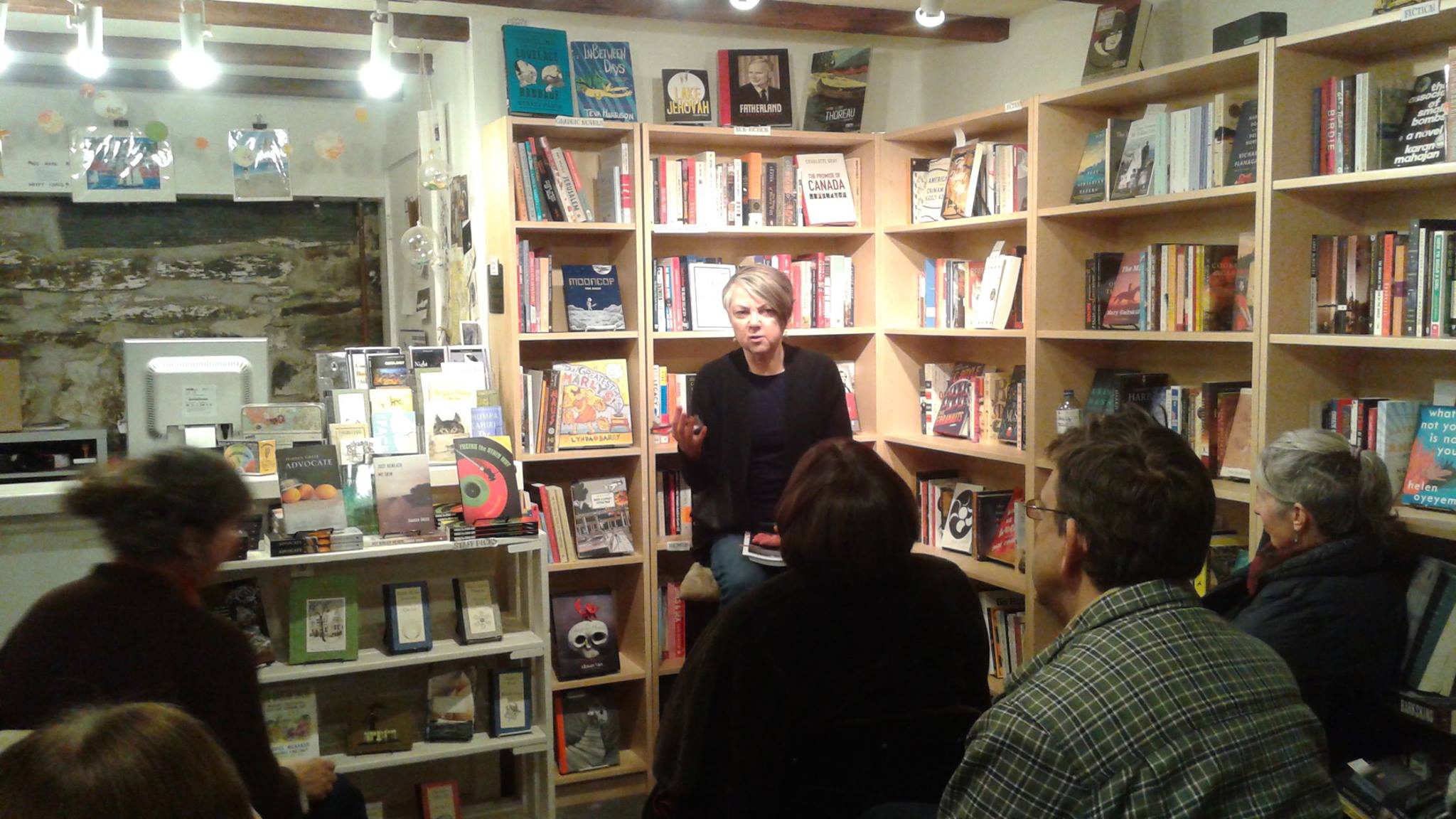 C.S. Reardon launched her debut novel The Spanish Boy. There was a very illuminating Q & A afterwards as well.