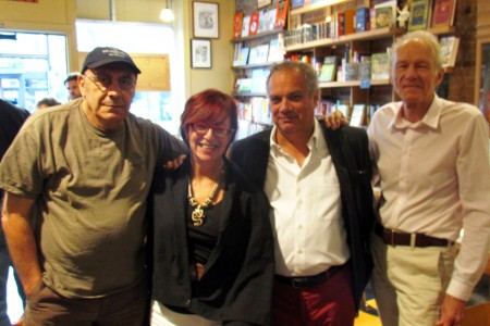 Michael Mirolla, Rona Shaffran, Antonio D'Alfonso & David Elkins at Drawn & Quarterly