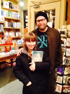 Author Jon Paul Fiorentino and his daughter Lilly