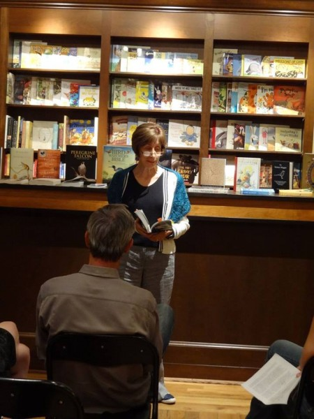 Stella Harvey reading from <i>Nicolai's Daughters</i>