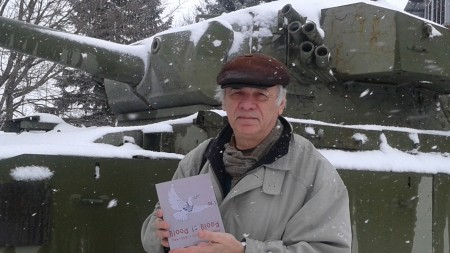 Endre Farkas outside the Military College