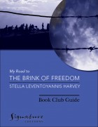 book club guide for The Brink of Freedom