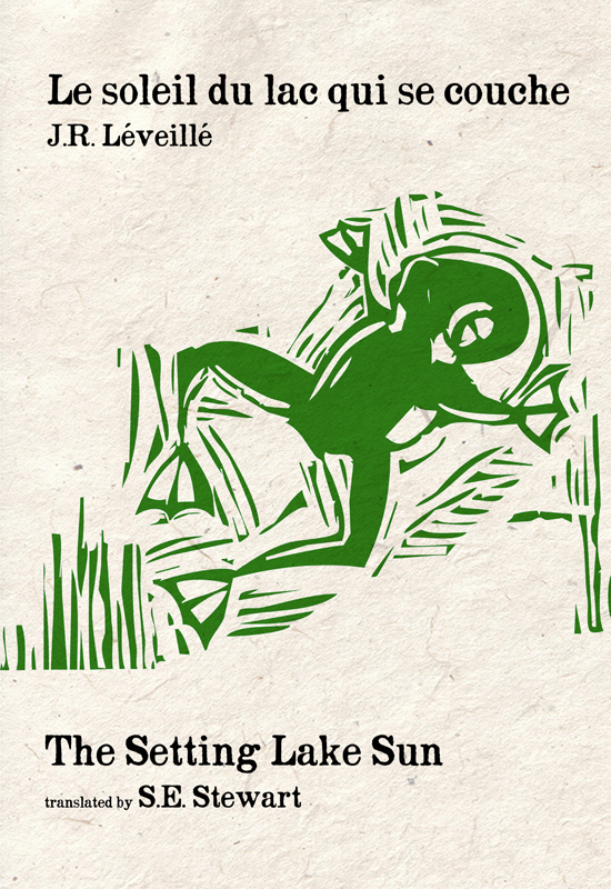 Le soleil du lac qui se couche/The Setting Lake Sun (ebook)